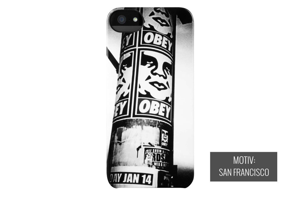incase – Obey sf iphone 5 cover på coverme