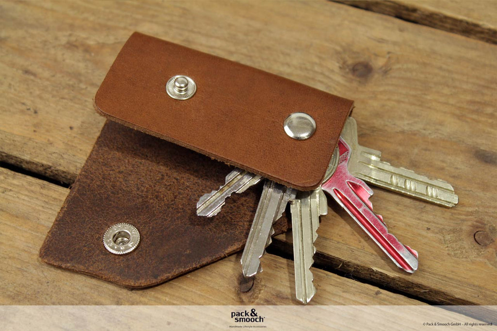 Kingsley 5 Key Holder Cognac