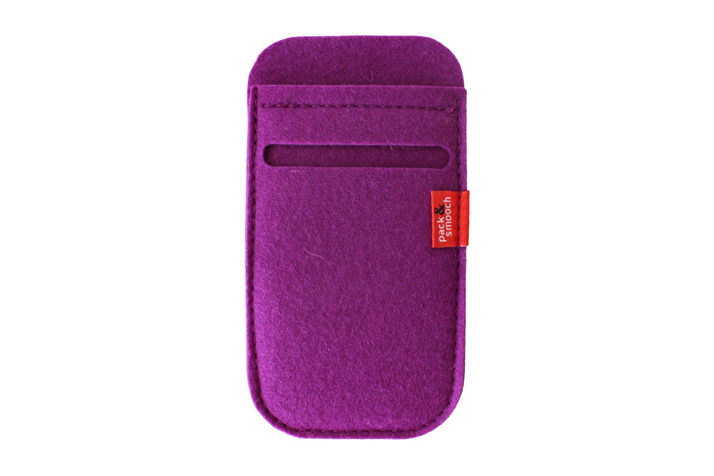 Filt iPhone 5 cover Lilla