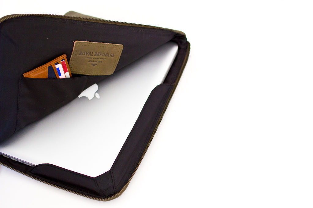 Thin Laptop Cover - Brun 13""