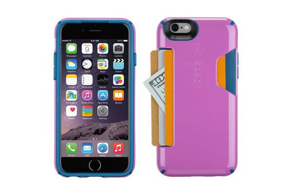 iPhone 6 /6s m/kreditkort Purple
