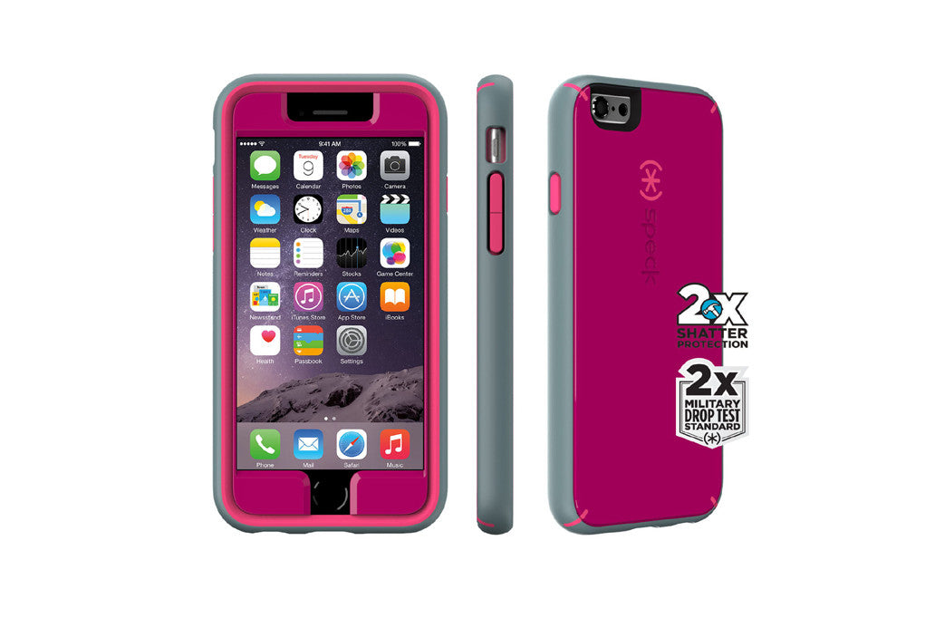 speck – Iphone 6 mightyshell pink/grå fra coverme