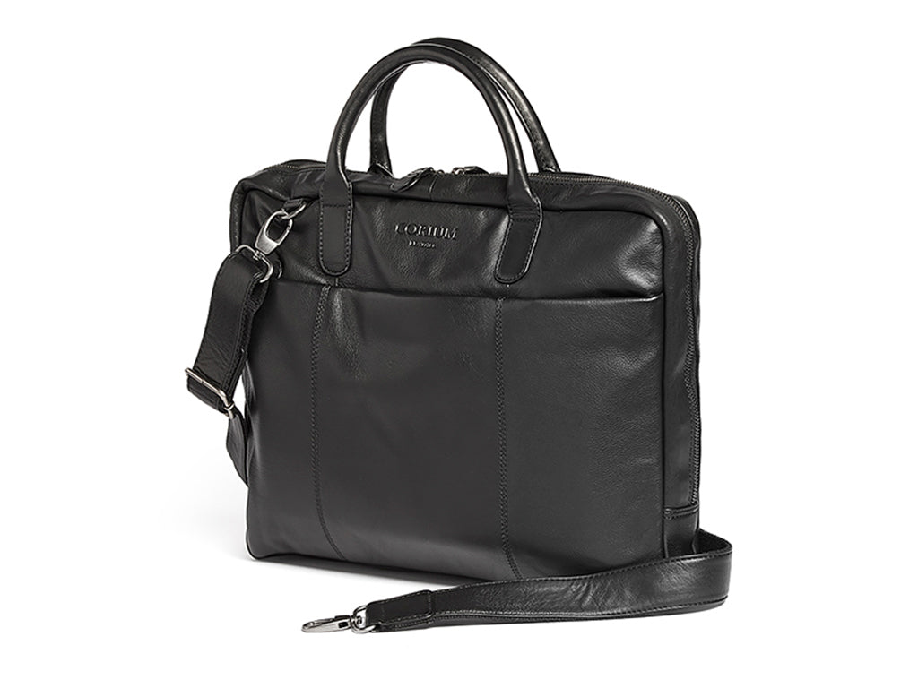 Corium slim laptop taske - sort