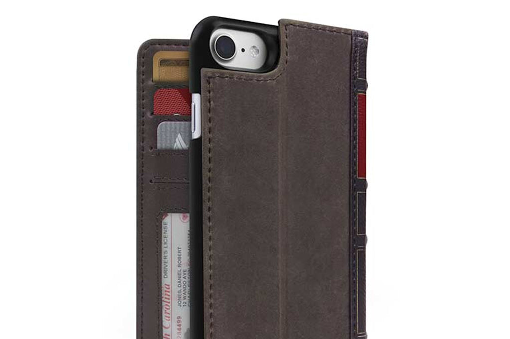 BookBook til iPhone 6/6s/7/8 Brun