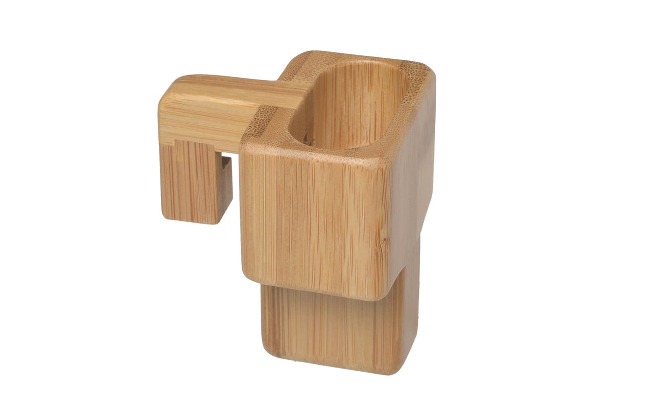 Image of   ALLDOCK Apple AirPod holder, Bambus