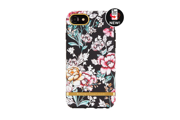 R&F Black Floral iPhone 6/6s/7/8