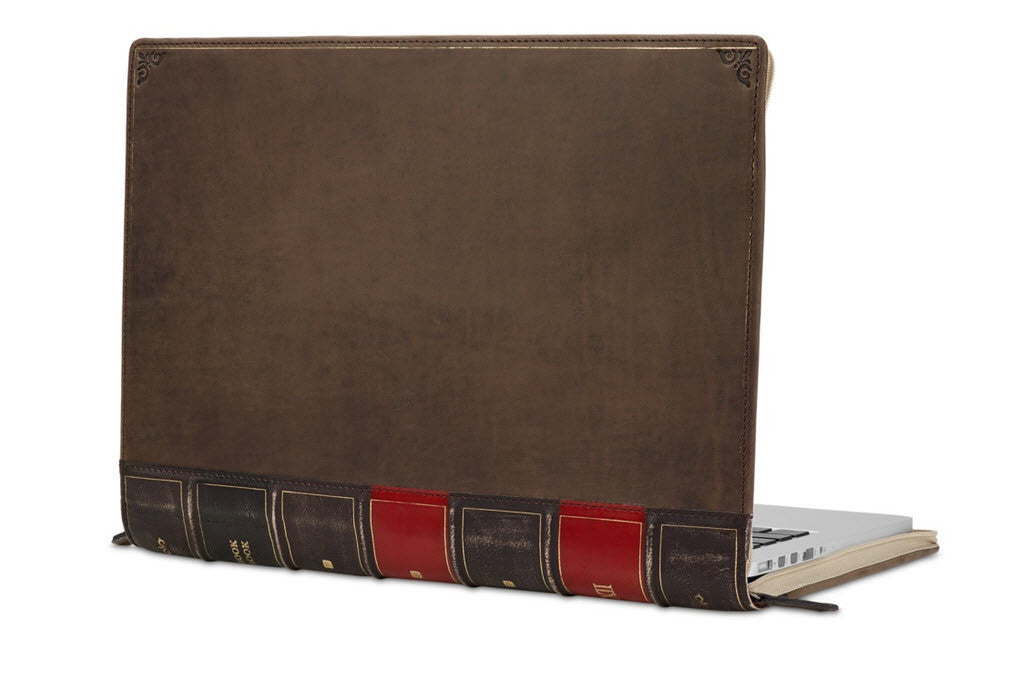 "Image of   BookBook MacBook 13"" Pro/Air Brun"