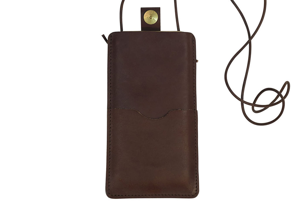 PAP iPhone 6 / 7 / 8 læder sleeve Brun