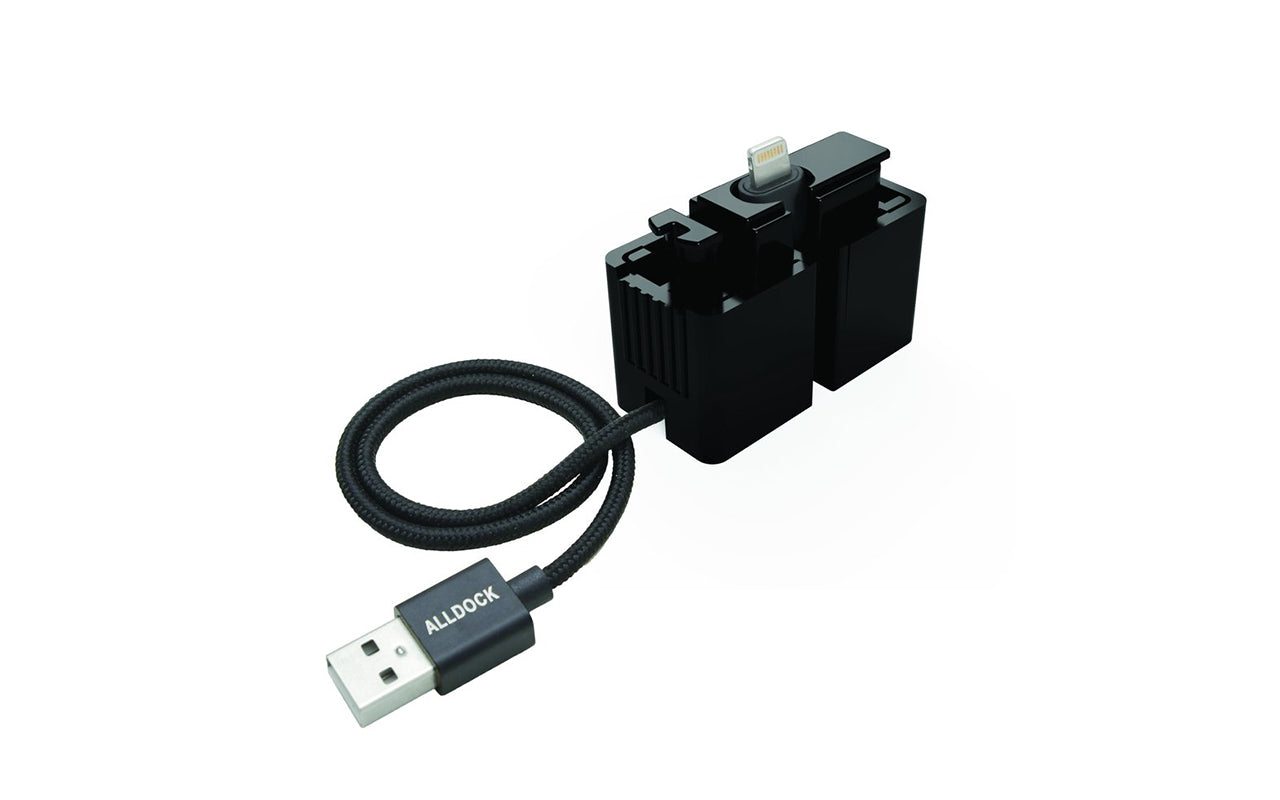 alldock One-hand adapter mfi (iphone) fra coverme