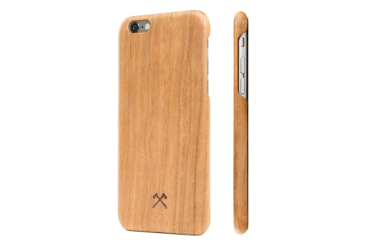 woodcessories – Iphone 6/6s ecocase kevlar kirsebær fra coverme
