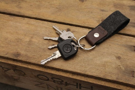 Selby Key chain Sort/Brun