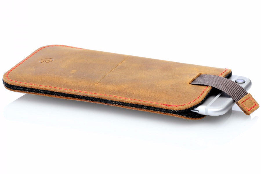 Image of   G.4 Iphone 6/7/8 Sleeve Camel