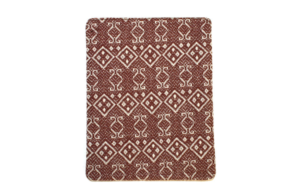 iPad cover i Tweed - Royal RepubliQ - Mørkerød mønsteret