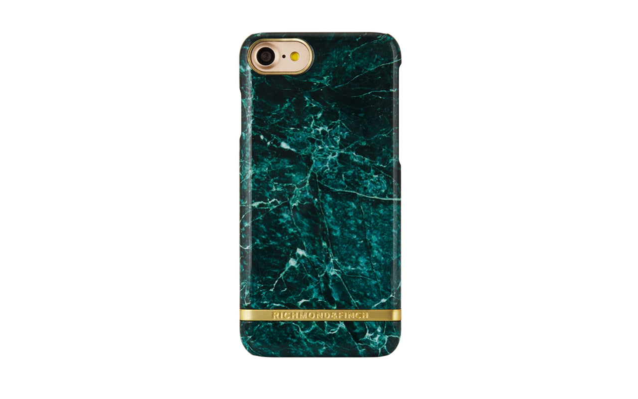 richmond&finch R&f green marble iphone 7/8 plus på coverme