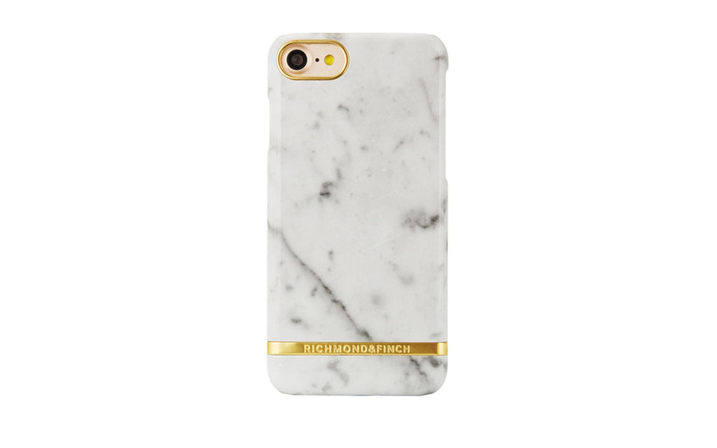 R&F Carrara White Marble iPhone 7/8