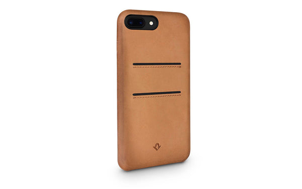 Relaxed cover til iPhone 7/8 Cognac