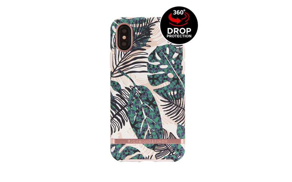 R&F Tropical Leaves iPhone X/XS