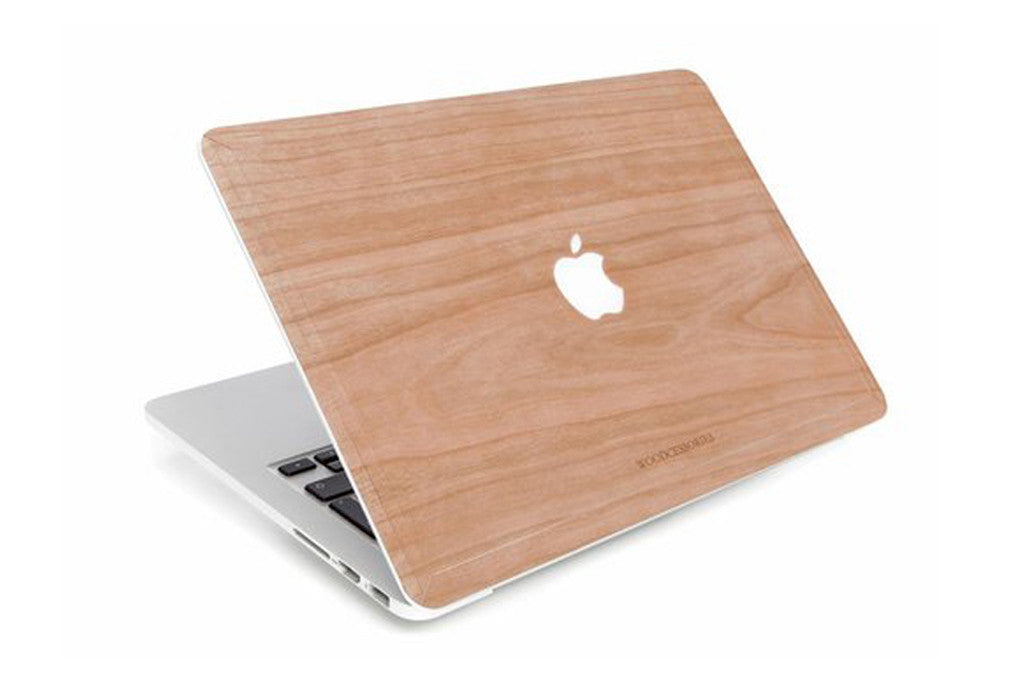 "Macbook 13"" touch ecoskin kirsebær fra woodcessories fra coverme"