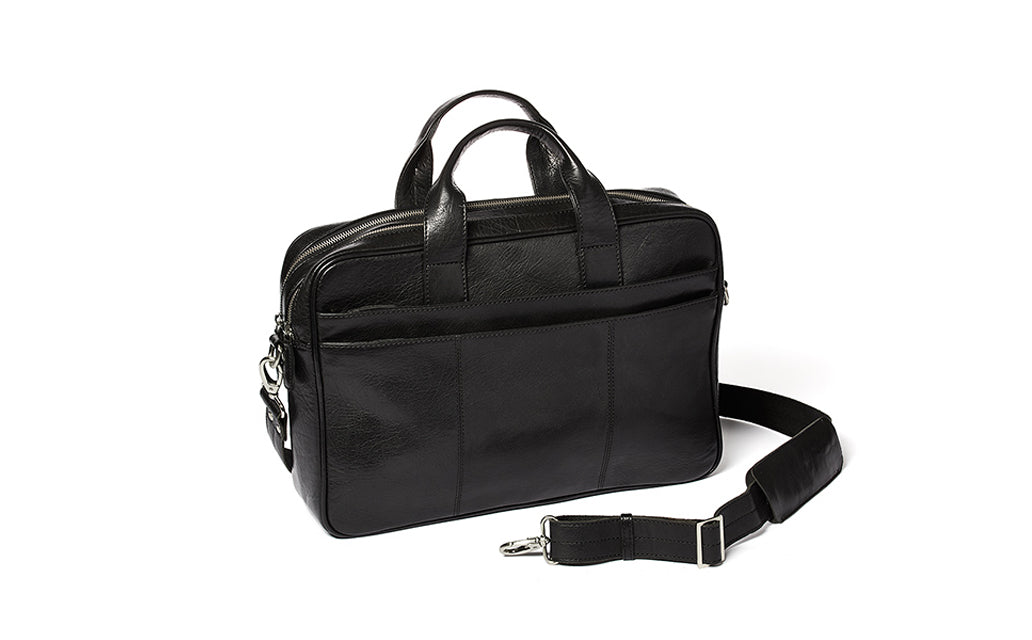 Image of   Corium double laptop taske - sort