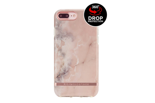 R&F Pink Marble iPhone 6/6s Plus, iPhone 7/8 Plus
