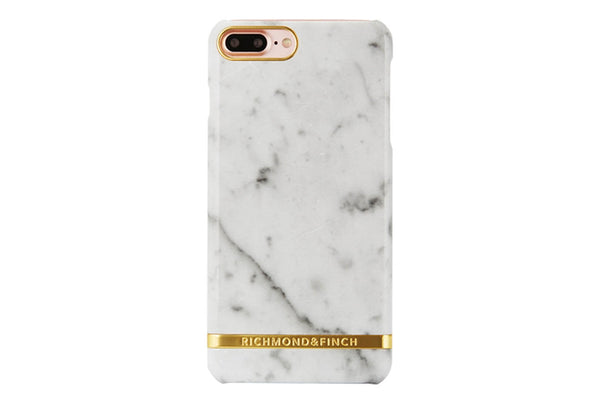 R&F Carrara White Marble iPhone 6/6s Plus, iPhone 7/8 Plus