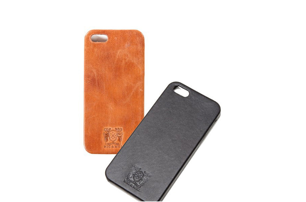 nic & mel Nic & mel iphone 5c cover cognac fra coverme