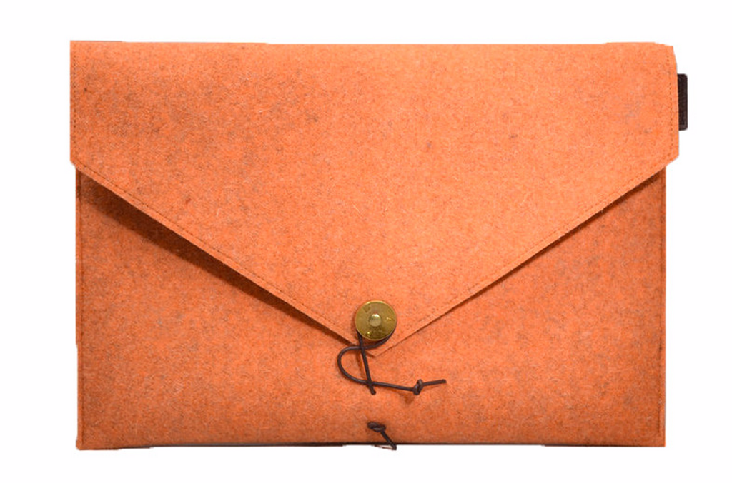 MacBook cover Orange