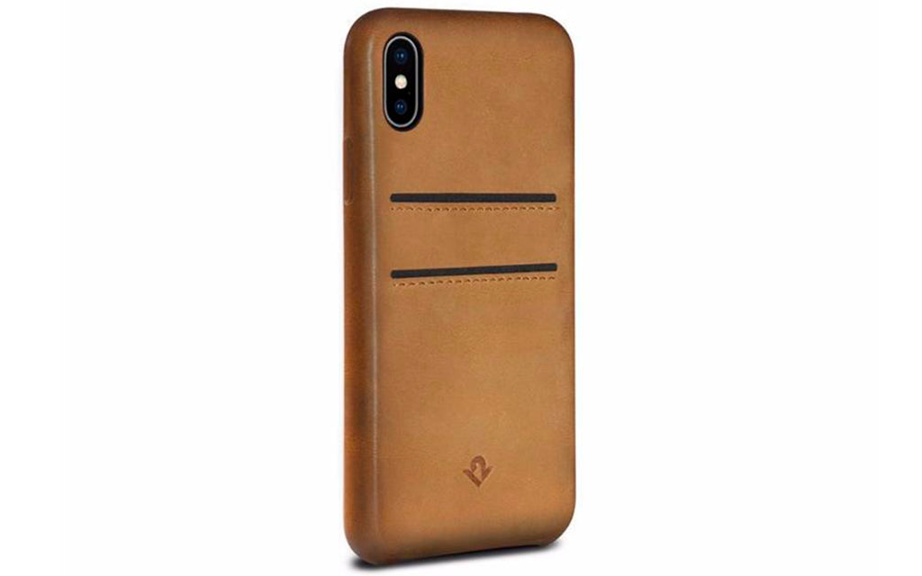 Relaxed cover til iPhone X Cognac