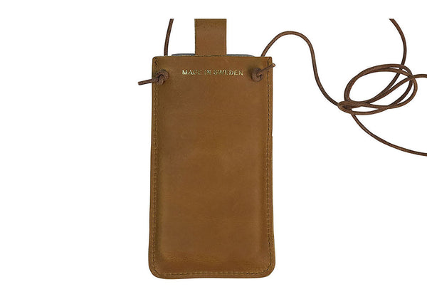 PAP iPhone 6 læder sleeve Tan