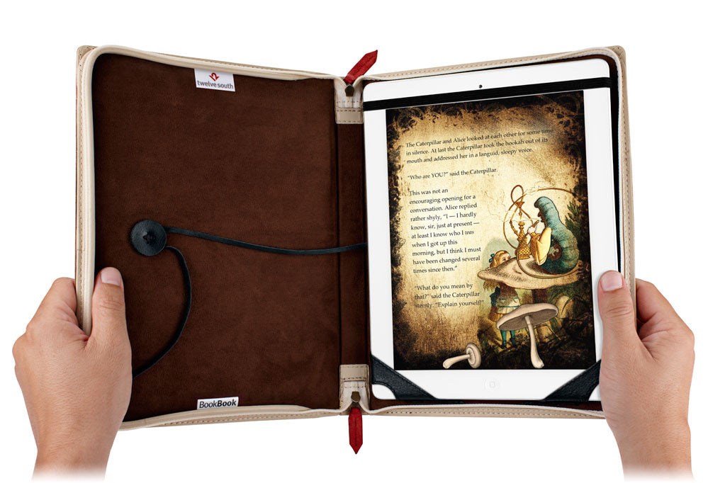 "BookBook iPad 9,7"" Air Brun"