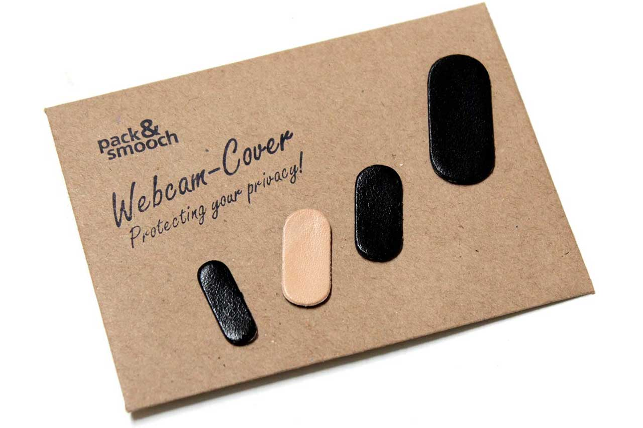 pack and smooch Webcam cover fra coverme