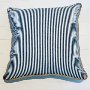 Coastal Stripe Cushion Cover