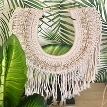 Load image into Gallery viewer, Maki Macrame Wall Hanging on Stand