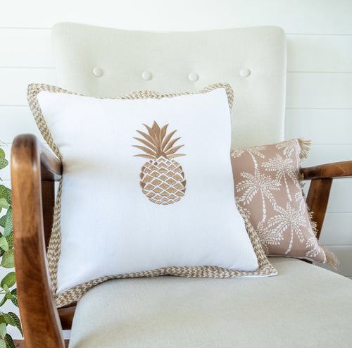 Pineapple Delight Cushion Cover