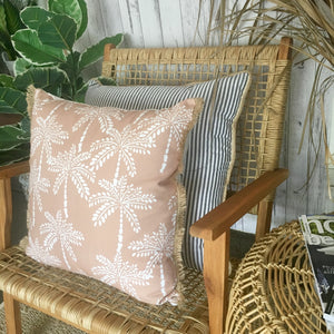 Vintage Palm Tree Cushion Cover
