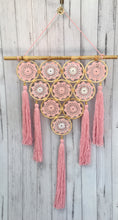 Load image into Gallery viewer, Hand Crafted Pink Dream Catcher