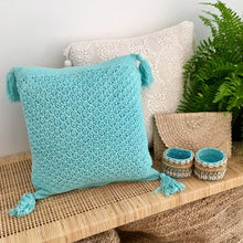 Load image into Gallery viewer, Crocheted Cushion Cover