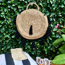 Load image into Gallery viewer, Sophie Hand Woven Tassel Bag