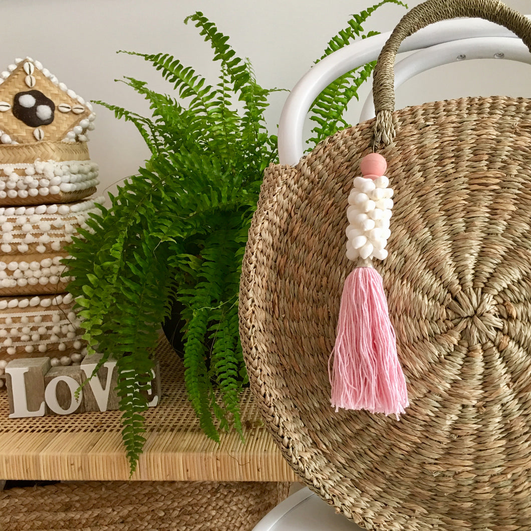 Rattan handwoven bag