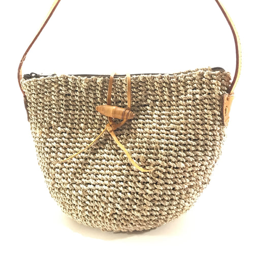 Allie Seagrass Woven Bag