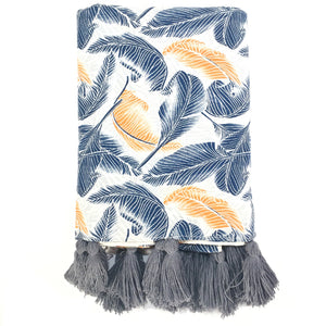 Tropical Leaf Throw
