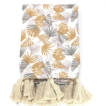 Load image into Gallery viewer, Tropical Golden Throw