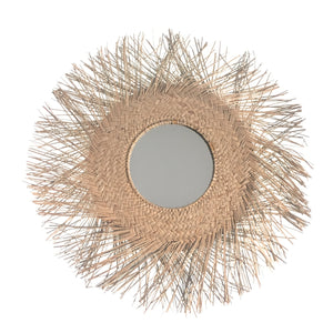 Nia Sea Grass Mirrored Wall Hanging