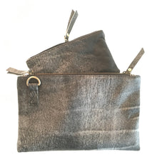 Load image into Gallery viewer, Abbie Leather Crossover Travel Bag