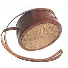 Load image into Gallery viewer, Hip Leather Round Bag