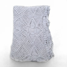 Load image into Gallery viewer, White Crochet Throw