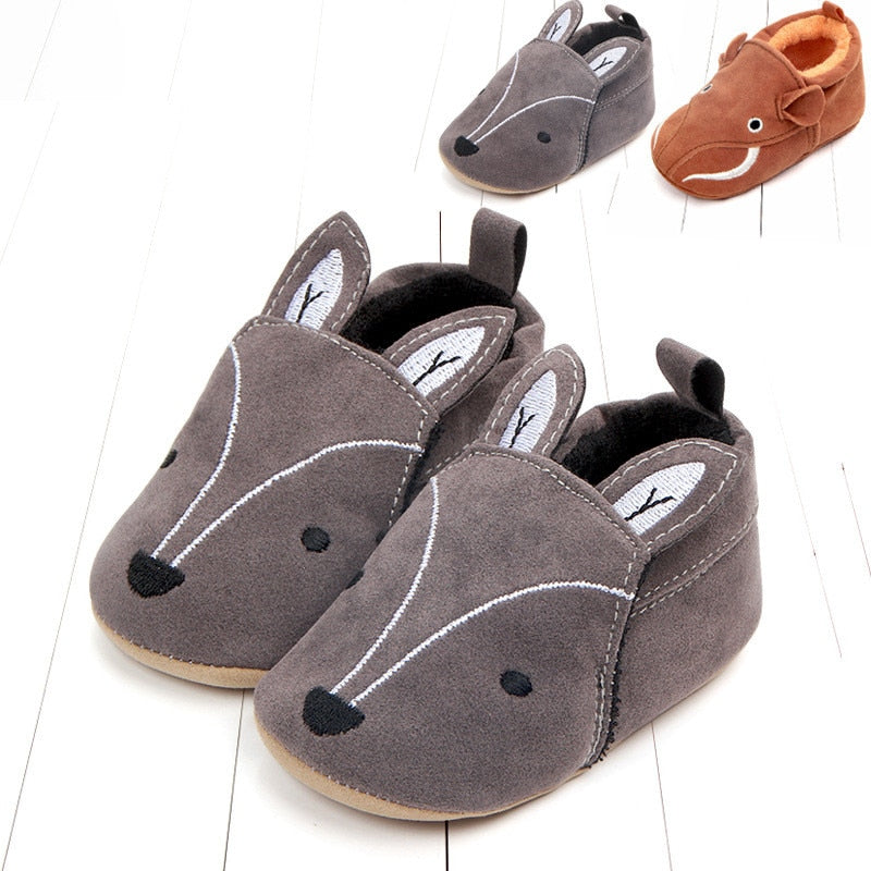 Sapatinho Little Baby Fox & Elefante