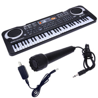 61 Keys Digital Music Electronic Keyboard Key Board Electric Piano Children Gift, US Plug