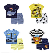 Children's Sets Summer Baby Girls Clothes Infant Kids Boys Clothes Newborn Baby Clothes Cute Whale T-Shirt+Shorts Roupas Bebe