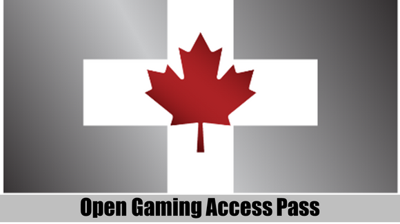 .CTC: Open Gaming Area Pass for Saturday 4 May 2019